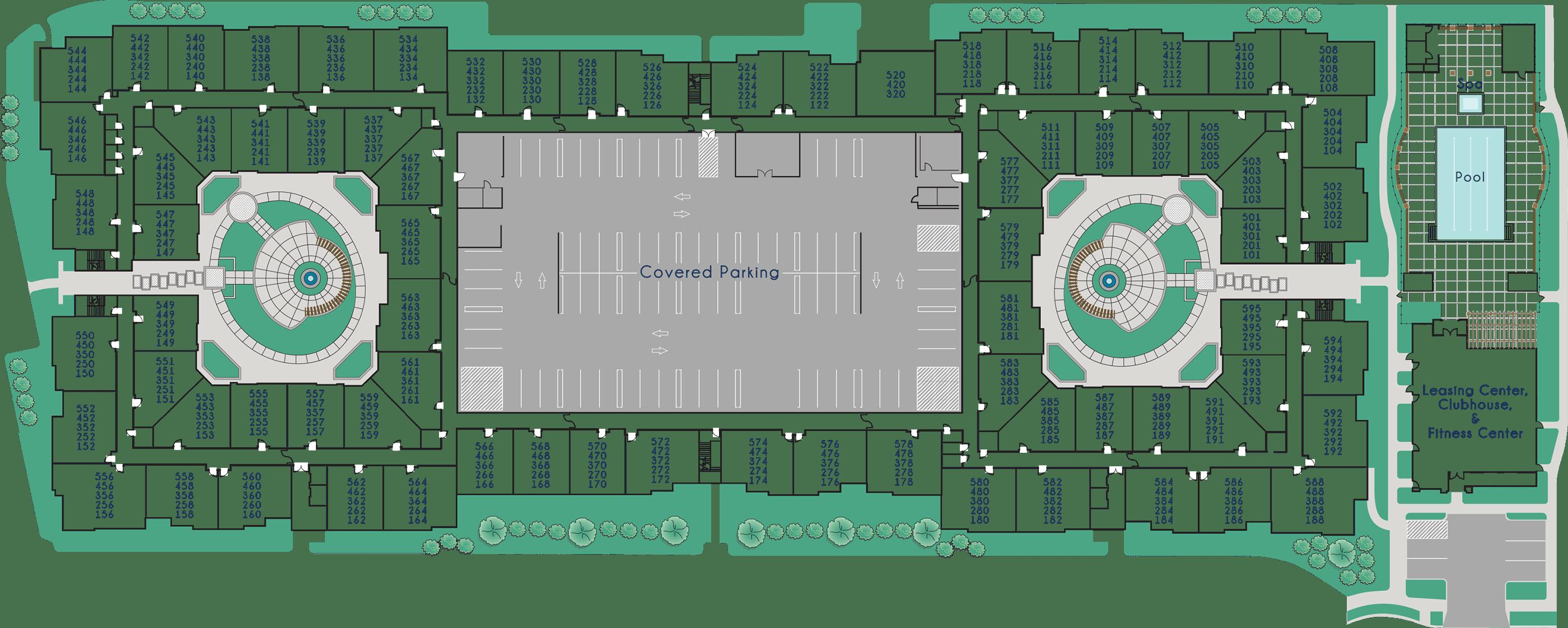 Amalfi Milpitas – Community Map
